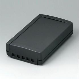 B1075469 / TOPTEC 194 F, Vers. II - ABS (UL 94 HB) - black RAL 9005 - 194x115x46mm - IP 40