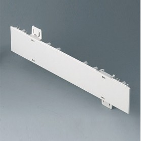 A0110270 / Panel lateral 1 HE - ABS (UL 94 HB) - off-white RAL 9002 - 250x44,45mm