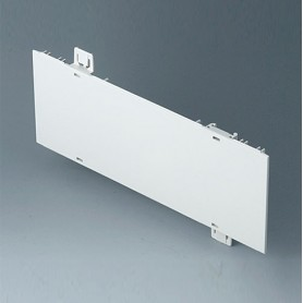 A0120270 / Panel lateral 2 HE - ABS (UL 94 HB) - off-white RAL 9002 - 250x88,9mm
