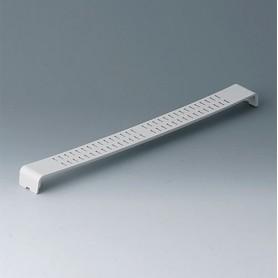 A0126370 / Panel a presión, con ranuras - ABS (UL 94 HB) - off-white RAL 9002
