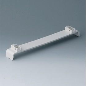 A0134370 / Panel a presión, sin ranuras, con patas - ABS (UL 94 HB) - off-white RAL 9002