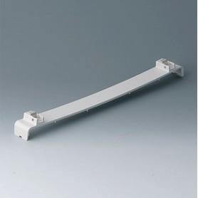 A0136370 / Panel a presión, sin ranuras, con patas - ABS (UL 94 HB) - off-white RAL 9002