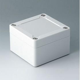 C7008011 / IN-BOX - ABS (UL 94 HB) - light grey RAL 7035 - 84x82x55mm - IP 66, IP 67, IK 07