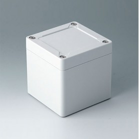 C7008021 / IN-BOX - ABS (UL 94 HB) - light grey RAL 7035 - 84x82x85mm - IP 66, IP 67, IK 07