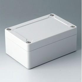 C7012011 / IN-BOX - ABS (UL 94 HB) - light grey RAL 7035 - 122x82x55mm - IP 66, IP 67, IK 07