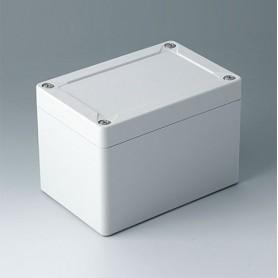 C7012021 / IN-BOX - ABS (UL 94 HB) - light grey RAL 7035 - 122x82x85mm - IP 66, IP 67, IK 07
