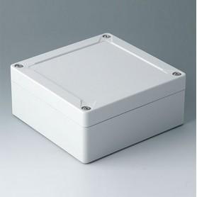 C7013031 / IN-BOX - ABS (UL 94 HB) - light grey RAL 7035 - 124x122x55mm - IP 66, IP 67, IK 07