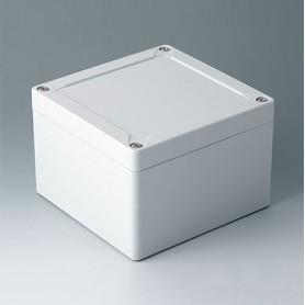 C7013051 / IN-BOX - ABS (UL 94 HB) - light grey RAL 7035 - 124x122x85mm - IP 66, IP 67, IK 07