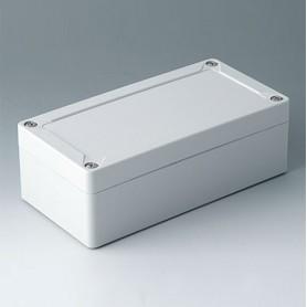 C7016011 / IN-BOX - ABS (UL 94 HB) - light grey RAL 7035 - 162x82x55mm - IP 66, IP 67, IK 07