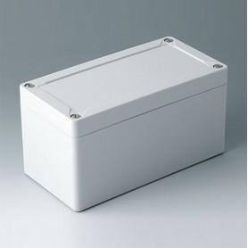 C7016021 / IN-BOX - ABS (UL 94 HB) - light grey RAL 7035 - 162x82x85mm - IP 66, IP 67, IK 07