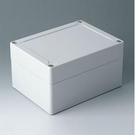 C7016061 / IN-BOX - ABS (UL 94 HB) - light grey RAL 7035 - 162x122x90mm - IP 66, IP 67, IK 07