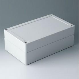 C7020041 / IN-BOX - ABS (UL 94 HB) - light grey RAL 7035 - 202x122x75mm - IP 66, IP 67, IK 07