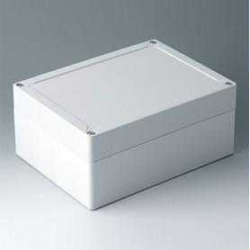 C7021071 / IN-BOX - ABS (UL 94 HB) - light grey RAL 7035 - 202x152x90mm - IP 66, IP 67, IK 07