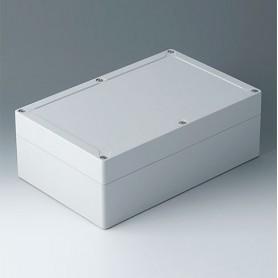 C7025081 / IN-BOX - ABS (UL 94 HB) - light grey RAL 7035 - 252x162x90mm - IP 66, IP 67, IK 07