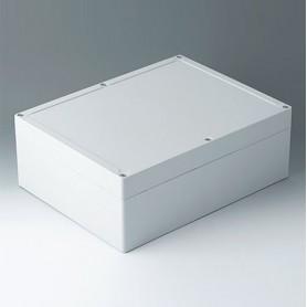 C7030111 / IN-BOX - ABS (UL 94 HB) - light grey RAL 7035 - 302x232x110mm - IP 66, IP 67, IK 07
