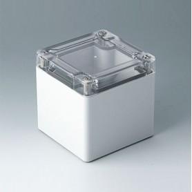 C7008024 / IN-BOX - ABS/PC (UL 94 HB) - light grey RAL 7035 - 84x82x85mm - IP 66, IP 67, IK 07
