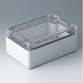C7012014 / IN-BOX - ABS/PC (UL 94 HB) - light grey RAL 7035 - 122x82x55mm - IP 66, IP 67, IK 07