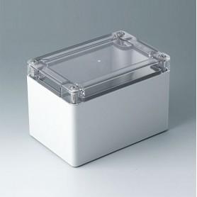 C7012024 / IN-BOX - ABS/PC (UL 94 HB) - light grey RAL 7035 - 122x82x85mm - IP 66, IP 67, IK 07
