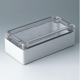C7016014 / IN-BOX - ABS/PC (UL 94 HB) - light grey RAL 7035 - 162x82x55mm - IP 66, IP 67, IK 07
