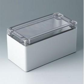 C7016024 / IN-BOX - ABS/PC (UL 94 HB) - light grey RAL 7035 - 162x82x85mm - IP 66, IP 67, IK 07