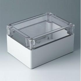 C7016064 / IN-BOX - ABS/PC (UL 94 HB) - light grey RAL 7035 - 162x122x90mm - IP 66, IP 67, IK 07