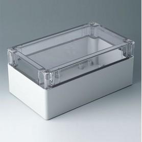 C7020064 / IN-BOX - ABS/PC (UL 94 HB) - light grey RAL 7035 - 202x122x90mm - IP 66, IP 67, IK 07