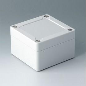 C7008012 / IN-BOX - PC - light grey RAL 7035 - 84x82x55mm - IP 66, IP 67, IK 08