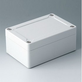 C7012012 / IN-BOX - PC - light grey RAL 7035 - 122x82x55mm - IP 66, IP 67, IK 08