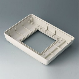 B4042767 / INTERFACE-TERMINAL Parte inferior S alto,Vers.II - ABS (UL 94 HB) - off-white RAL 9002 - 190x135x34,5mm - IP 54 opt.