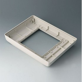 B4044767 / INTERFACE-TERMINAL Parte inferior M alto,Vers.II - ABS (UL 94 HB) - off-white RAL 9002 - 225x165x35,5mm - IP 54 opt.