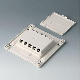 B4142047 / Compartimento de batería y tapa S, 5 x AA - ABS (UL 94 HB) - off-white RAL 9002