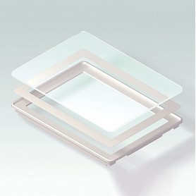 B4142203 / Panel de vidrio S - Vidrio - clear/transparente - 190,6x135,6x16,7mm