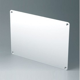 B4144106 / Panel frontal M - Aluminio - matt anodised - 221,5x161,5x2mm