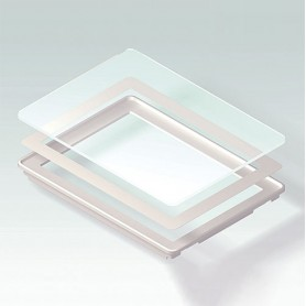 B4144203 / Panel de Vidrio M - Vidrio - clear/transparente - 225,6x165,6x17,7mm