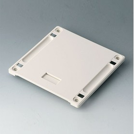 B4142167 / Panel inferior con hueco para el asa S - ABS (UL 94 HB) - off-white RAL 9002