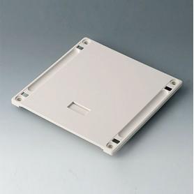 B4144167 / Panel inferior con hueco para el asa M - ABS (UL 94 HB) - off-white RAL 9002