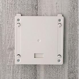 B4142247 / Elemento de suspensión de pared S - ABS (UL 94 HB) - off-white RAL 9002