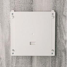 B4146247 / Elemento de suspensión de pared L - ABS (UL 94 HB) - off-white RAL 9002