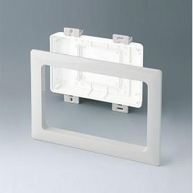 B4142597 / Kit de montaje para instalación S, Alto - ABS (UL 94 HB) - off-white RAL 9002 - 234x185mm