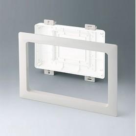 B4144597 / Kit de montaje para instalación M, Alto - ABS (UL 94 HB) - off-white RAL 9002 - 272x218mm