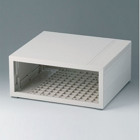 B2210207 / MEDITEC D 220, CAJA SIN ASA - ABS (UL 94 HB) - off-white RAL 9002 - 290x260x124mm - IP 40