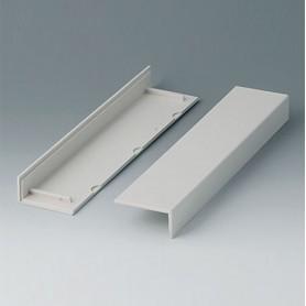 B2020007 / Cubiertas laterales 220, sin ventilación - ABS (UL 94 HB) - off-white RAL 9002