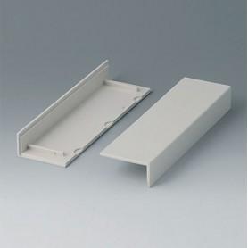 B2022007 / Cubiertas laterales 160, sin ventilación - ABS (UL 94 HB) - off-white RAL 9002