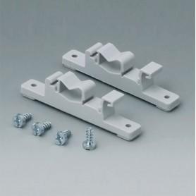 C2201088 / Elementos de fijación a Railes-DIN - PA 6 - light grey RAL 7035