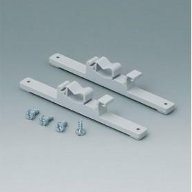 C2203128 / Elementos de fijación a Railes-DIN - PA 6 - light grey RAL 7035