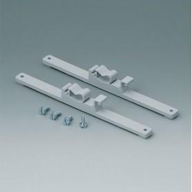 C2204168 / Elementos de fijación a Railes-DIN - PA 6 - light grey RAL 7035