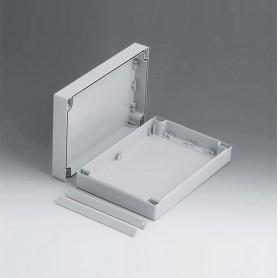 C2016241 / ROBUST-BOX ANCHURA 160, Vers. I - ABS (UL 94 HB) - light grey RAL 7035 - 240x160x60mm - IP 66