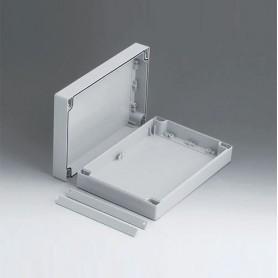 C2016242 / ROBUST-BOX ANCHURA 160, Vers. II - PC (UL 94 HB) - light grey RAL 7035 - 240x160x60mm - IP 66