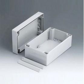 C2112201 / ROBUST-BOX ANCHURA 120, Vers. I - ABS (UL 94 HB) - light grey RAL 7035 - 200x120x90mm - IP 66