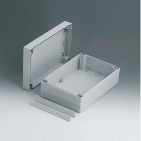 C2116241 / ROBUST-BOX ANCHURA 160, Vers. I - ABS (UL 94 HB) - light grey RAL 7035 - 240x160x90mm - IP 66